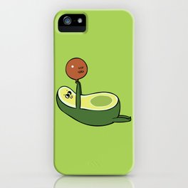 Acro- Yocado iPhone Case