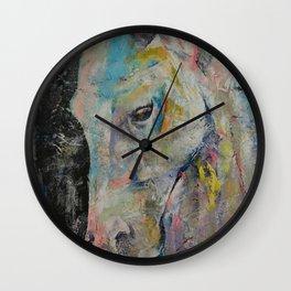 Hidden Heart Horse Wall Clock