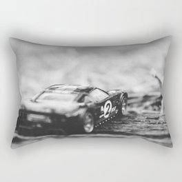 Snowy Grain Rectangular Pillow