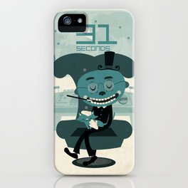 I've been waiting for you, Mr. Bond iPhone Case