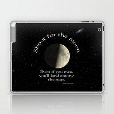 Shoot For The Moon Laptop & iPad Skin