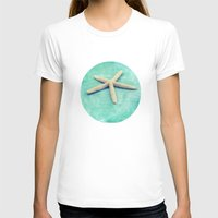 starfish T-shirts featuring starfish by Sylvia Cook Photography