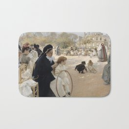 Albert Edelfelt and Queen Bianca Bath Mat