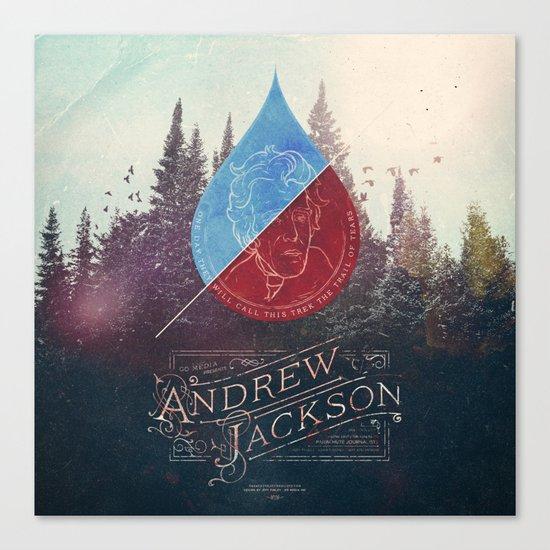 Parachute Journalists - Andrew Jackson Canvas Print