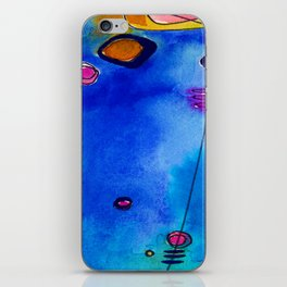 Magical Thinking No. 2C by Kathy Morton Stanion iPhone Skin