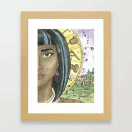 Sheerah Framed Art Print