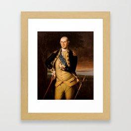 General George Washington Framed Art Print