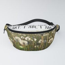Sylvia Plath Quote 2 Fanny Pack