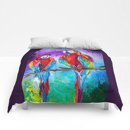 Parrots Comforters