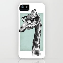 Short-Sighted Giraffe iPhone Case
