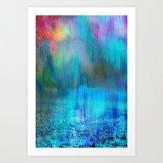 Rain Curtain Art Print
