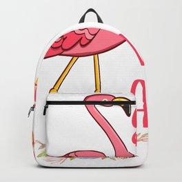 "Nice Flamingo Shirt For Grandmothers ""Grammingo Like A Normal Grandma Only More Awesome"" T-shirt Backpack"