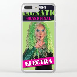 Dragnation Season 1 Electra Rigby's WA Clear iPhone Case