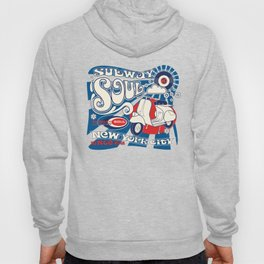 Soul Scoot Subway Soul by Dawn Carrington Hoody