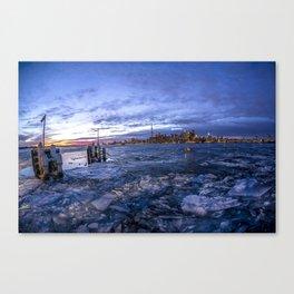 Toronto Ice Canvas Print