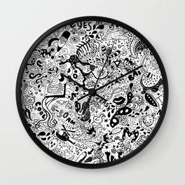 cute graphite Wall Clock