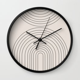 Arch Art Wall Clock