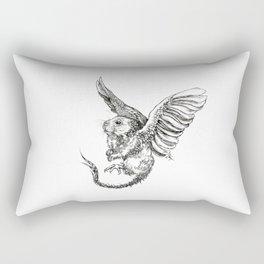 Whiskery Heights Rectangular Pillow