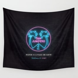 San Junipero Wall Tapestry