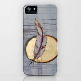 Blood Feather iPhone Case