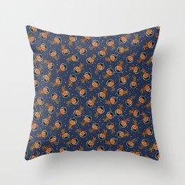 Spacemen Throw Pillow