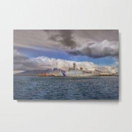 Icelandic Coast Guard | Reykjavik Metal Print