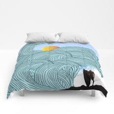 surfing 3 Comforters