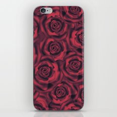 Red smoky rose . Roses . iPhone & iPod Skin