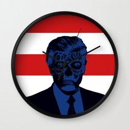 Trump Lives Wall Clock