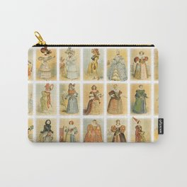 Vintage French fashion Carry-All Pouch