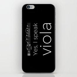 Yes, I speak viola iPhone Skin