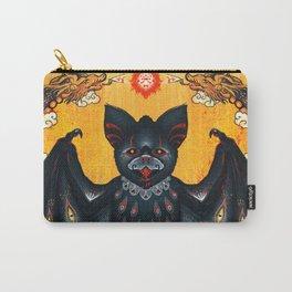 Black Bat Carry-All Pouch