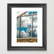 Smashed Glass Framed Art Print