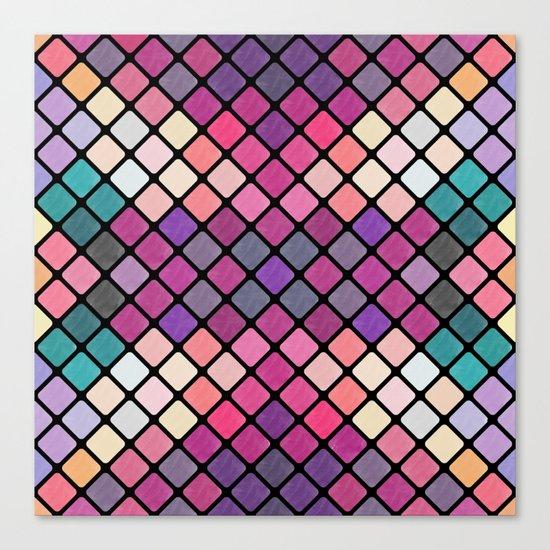 Lovely geometric Pattern XI Canvas Print