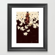 The Weight Of The Dead Framed Art Print