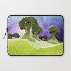 Broccoli Planet / / #fractal #fractals #3d Laptop Sleeve