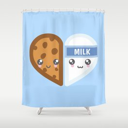 Milk & Cookie Shower Curtain