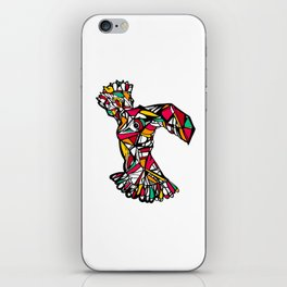 Floral Dodo Queen iPhone Skin