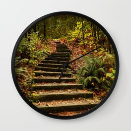 Stairway To Paradise Wall Clock