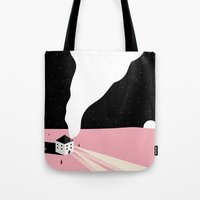 once upon a  time Tote Bags featuring once upon a time by Alba Blázquez