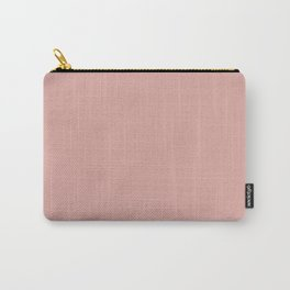 Mellow Rose | Pantone Fashion Color | Autumn : Winter 2018 | London | Solid Color Carry-All Pouch