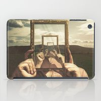 frame iPad Cases featuring Empty Frame by Seamless