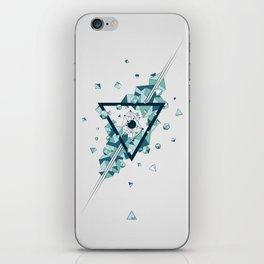 Dark Matter V02 iPhone Skin