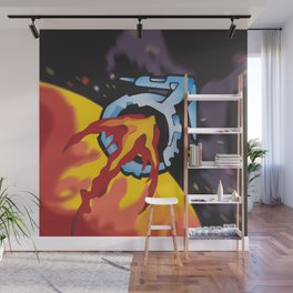FLIGHT TO MARS Wall Mural