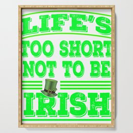 Glad that your an Irish? This is the perfect tee for you! Awesome tee design made specially for you! Serving Tray
