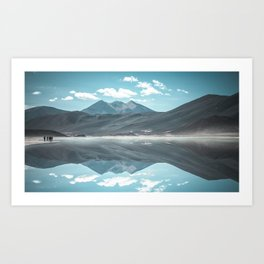 Atacama Reflected Art Print