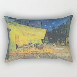 Vincent can Gogh's Cafe Terrace at Night Rectangular Pillow