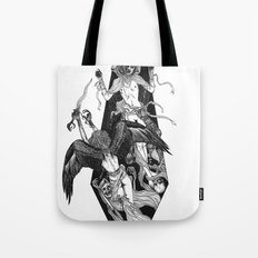 Inverted Coffin Tote Bag