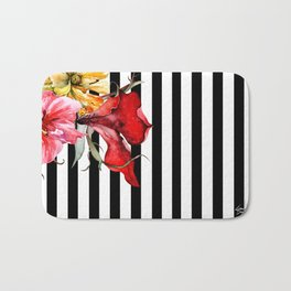 FLORA BOTANICA | stripes Bath Mat
