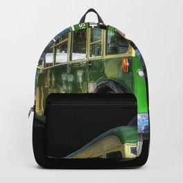 Vintage Bus Backpack